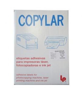 Etiquetas adhesivas en hojas DIN A-4
