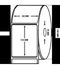 Rollo 1 Millares Etiquetas Papel Térmico 60 x 134 mm