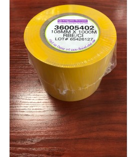 RIBBON AMARILLO 1000 M x 108 mm IMPRESORA QL-4000XE