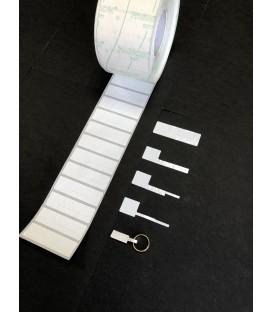 Etiquetas adhesivas para JOYERIA , rollo 2.500 etiq. - 60 x 18 mm