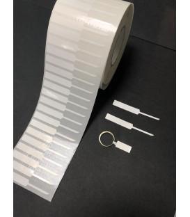 Etiquetas adhesivas para JOYERIA, rollo 4.000 Etiq - 65 x 8 mm