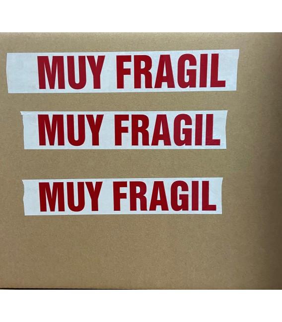 """ROLLO DE PRECINTO ADHESIVO """" MUY FRAGIL"""""""
