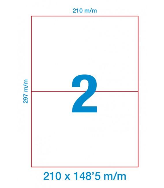 Etiquetas Adhesivas DIN A4 Caja 500 Uni.