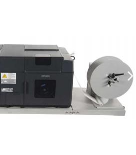 Desbobinador + placa de sujeción válido para la impresora Epson C-7500