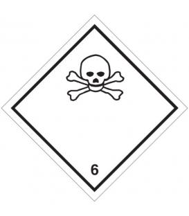 "Etiquetas A.D.R. Clase 6.1 ""Materias tóxicas"""