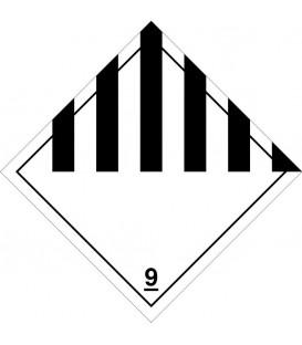 "Etiquetas A.D.R. Clase 9 ""Materias y objetos peligrosos"""