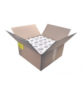 Caja 43,2 Millares de Etiquetas Zig zag Semibrillo-couché 76 x 40 mm