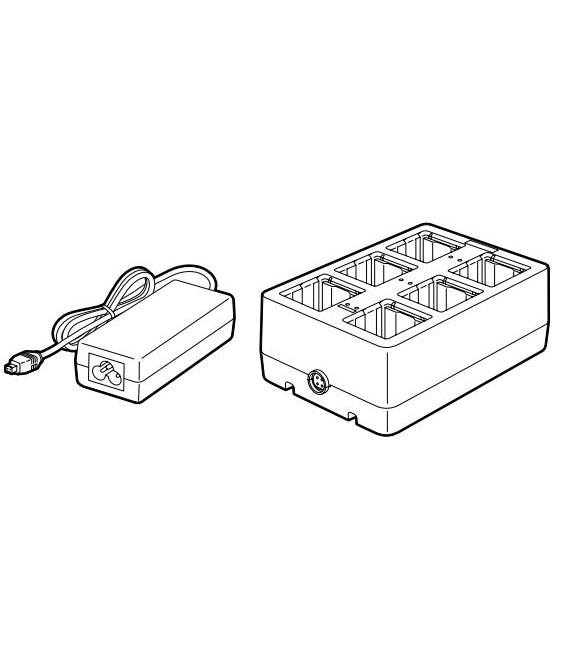 Cargador B-EP800-CHG6 para EP2DL y EP4DL (6 baterías)