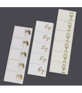 Rollo 1 Millar Cartulina Prinkote Oro Stamping 60 x 40