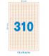 Etiquetas JOYERIA Adhesivas DIN A4 19 X 9 - margen superior e inferior