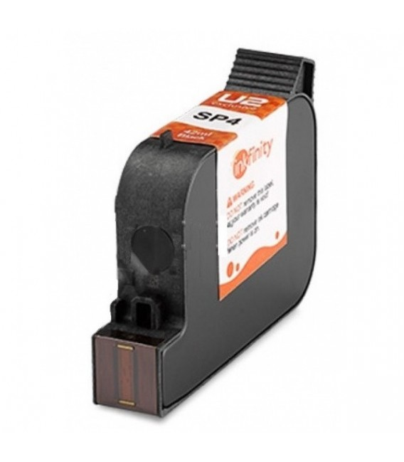 U2 Inkfinity SP4 Ink Cartridge Black 42 ml