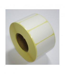 Rollo 1 Millares Etiquetas Numeración p/ Hospitales 35 x 30 mm