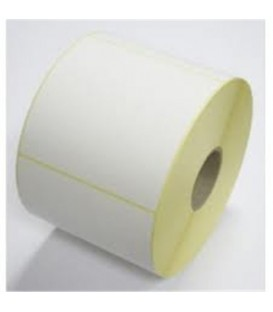Etiquetas papel blanco mate